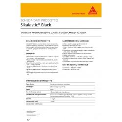 SIKALASTIC BLACK 5 Kg